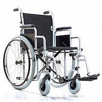 Кресло-коляска комнатное с цельнорезиновыми колёсами Base 110 (сиденье 46 см)