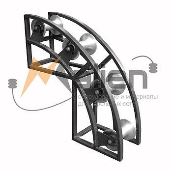 РКУ 4-120А Ролик кабельный угловой направляющий МАЛИЕН