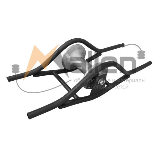 РКЛ-КЛ Ролик кабельный прямой для кабельного лотка