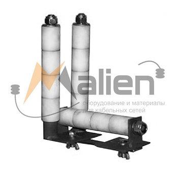 РКУ-КЛ-100 Ролик кабельный угловой для кабельного лотка