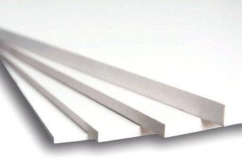 Вспененный листовой ПВХ (5мм) 1,22мХ2,44м; плотность - 0,60
