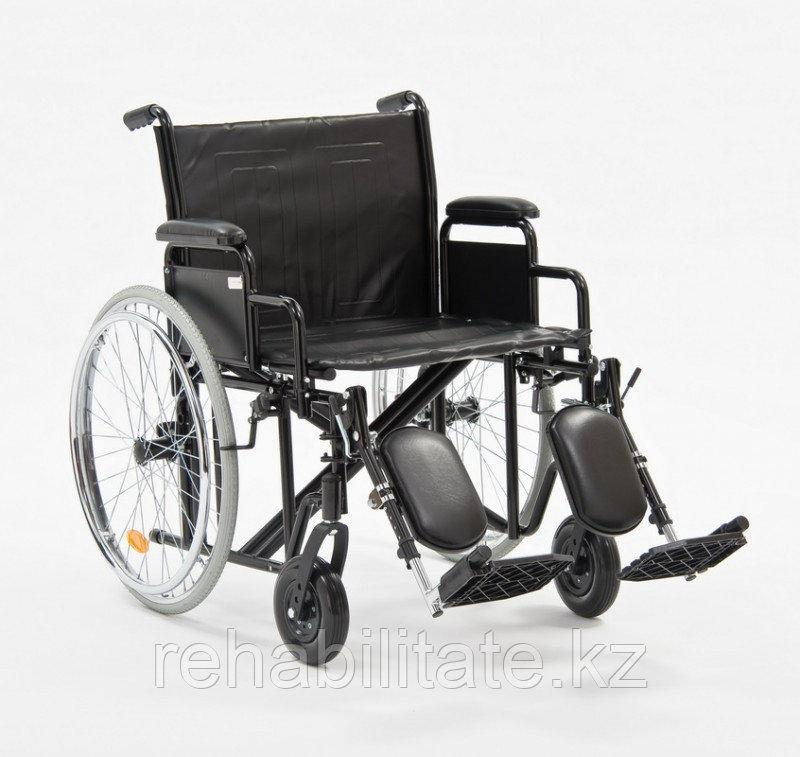 Кресло-коляска для полных людей Н002 (22)-56