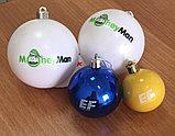 Нанесение логотипа на новогодних шарах, фото 2