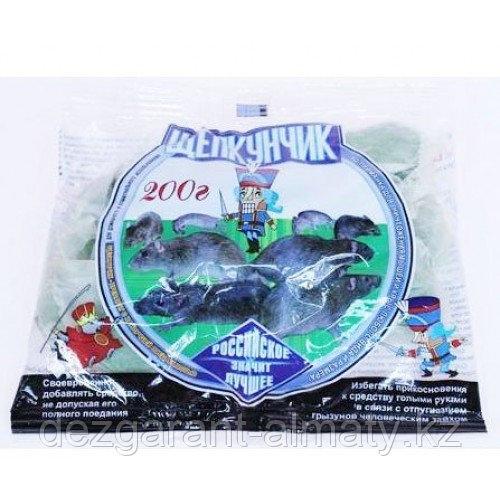 Щелкунчик (мягкие брикеты пакет 200 г). Средство от крыс и мышей