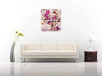 Модульная картина Натюрморт из полевых цветов