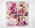 Модульная картина Натюрморт из полевых цветов, фото 2