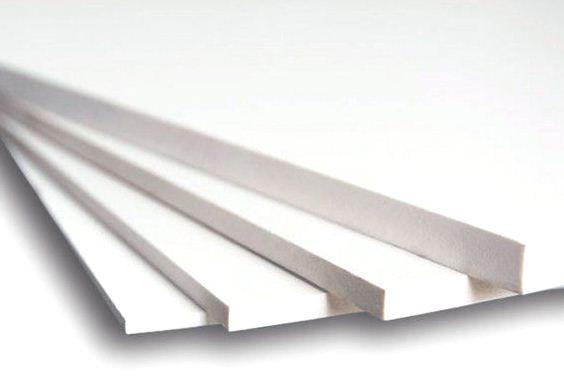 Вспененный листовой ПВХ (5мм) 2,03мХ3,05м; плотность - 0,60