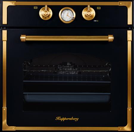 Встраиваемая духовка Kuppersberg RC 699 ANT Bronze чёрный