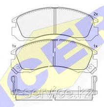Тормозные колодки ICER 140979(REMSA 354.02)