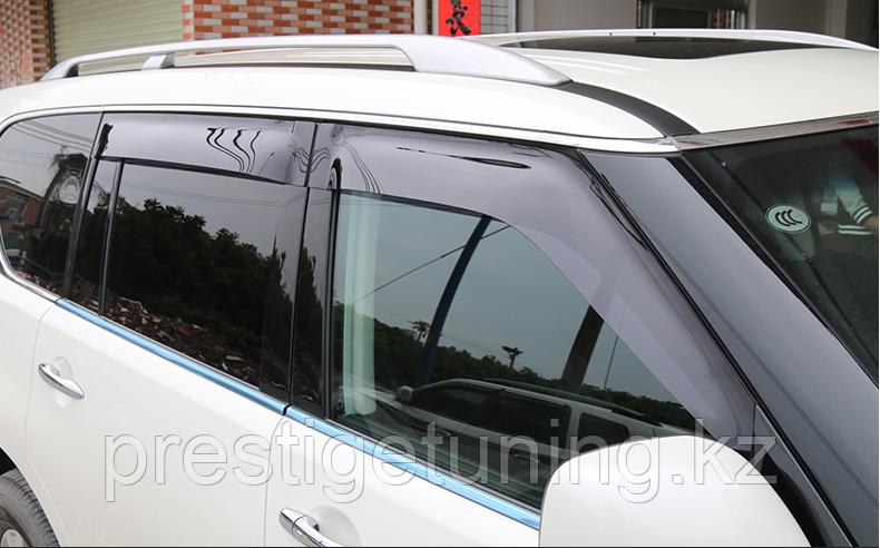 Дефлекторы на двери Nissan patrol Y62