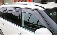 Дефлекторы на двери Nissan patrol Y62, фото 1