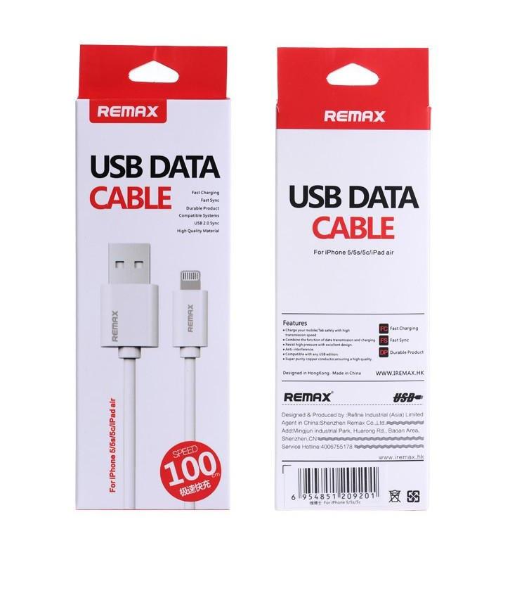 Кабель Remax USB Data Cable Lightning