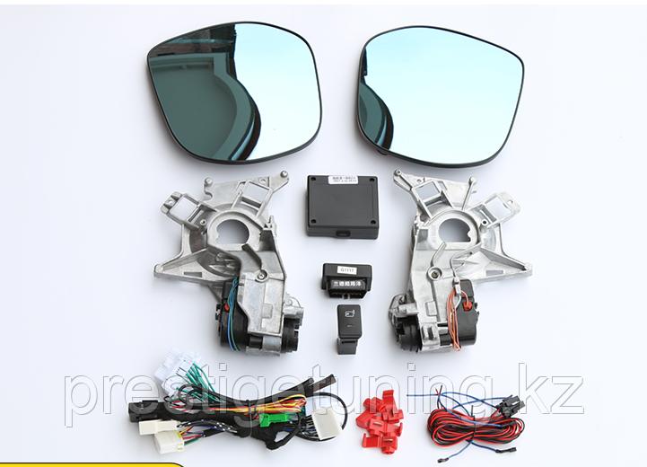 Зеркала с автоскладыванием для Nissan Patrol Y62 2010-15