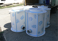 Пластиковые канализационные колодцы5,6 м³
