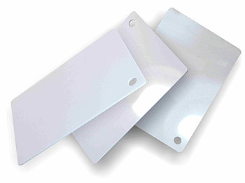 Белый, жесткий листовой PVC пластик (1 мм) 1,22м х2,44м