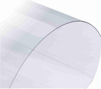 Прозрачный, жесткий листовой PVC пластик (2 мм) 1,22м х2,44м