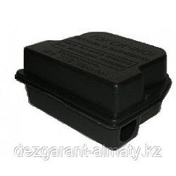 Контейнер-М черный. Приманочный домик для мышей