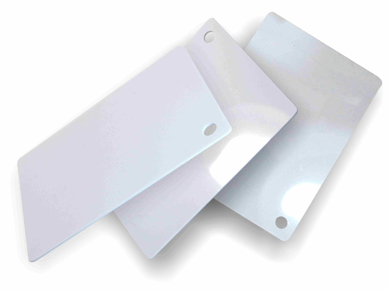 Белый, жесткий листовой PVC пластик (2 мм) 1,22м х2,44м