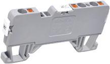 Клемма пружинная серии OPK ( 1 ввод / 2 вывода) 24А , 750 В