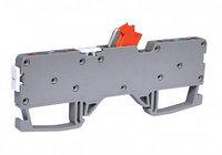 Клемма пружинная сеч. 2,5 мм2 с размыкателем (2 ввода / 2 вывода) серии ОРК