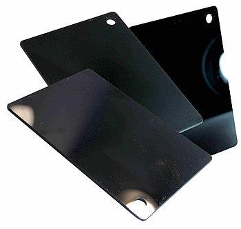 Черный, жесткий листовой PVC пластик (2 мм) 1,22м х2,44м