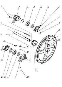 Н 116.580-02 Контр привод
