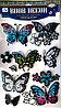 """Набор наклеек """"Бабочки"""" 6D, цветные, 7шт."""