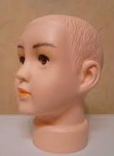 Манекен-голова детский, 3-6 лет