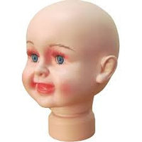 Манекен-голова малыш, 0-2 года