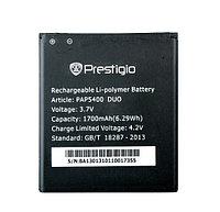 Заводской аккумулятор для Prestigio MultiPhone 5400 Duo (PAP5400 Duo, 1700mah)