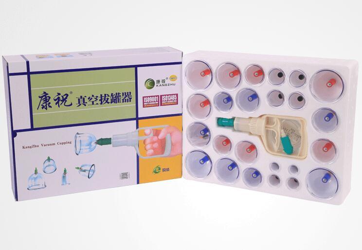 Вакуумные банки KangZhu с насосом 24 шт.