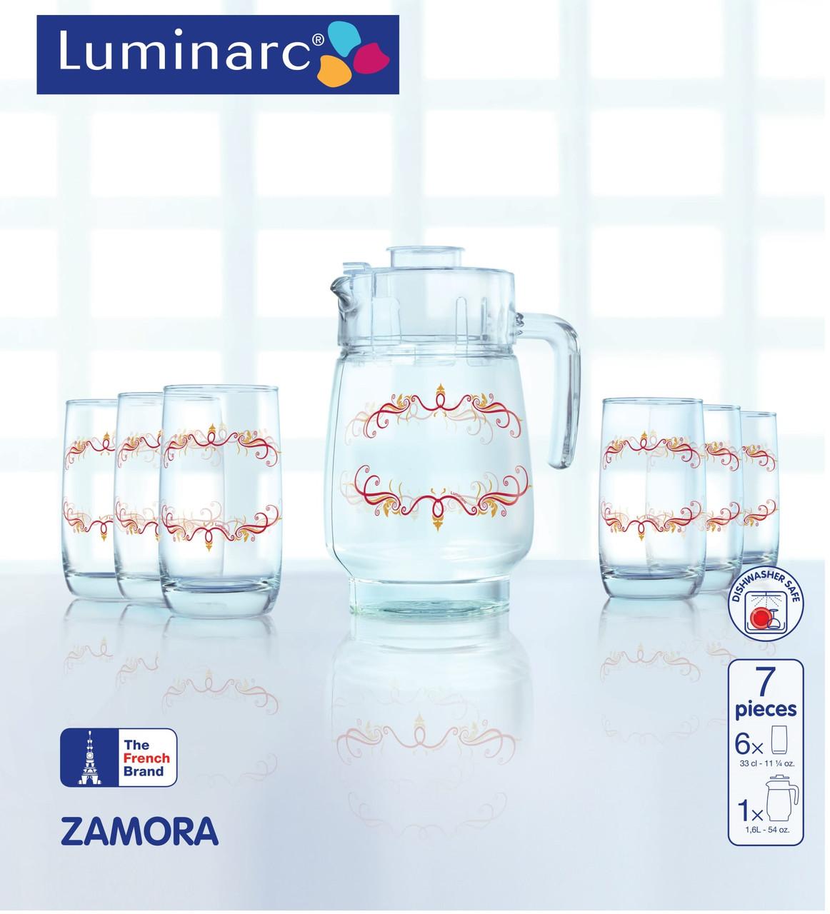 Набор питьевой Luminarc ZAMORA - 7 предм.