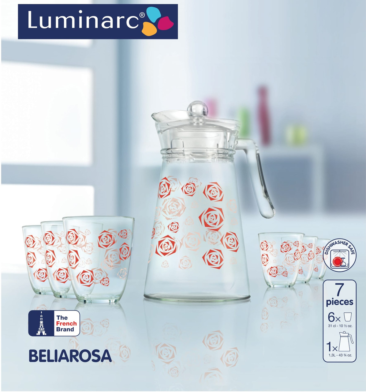 Набор питьевой Luminarc Beliarosa (7 пр.)