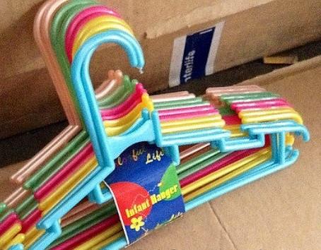 Вешалки пластиковые с подвеской, 300 мм