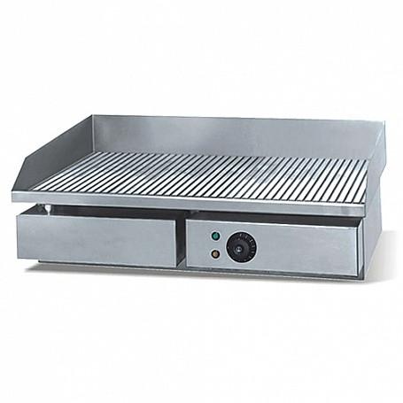 Поверхность жарочная WY-821 (550х450х230 мм, 3 кВт, 220 В, рифленая жар. поверхн., нерж.)
