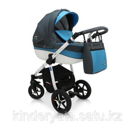Детская коляска 3 в 1 Pepe Eco plus 23 Verdi