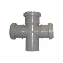 Крестовина одноплоскостная канализационная 50х50х50/90 ПП