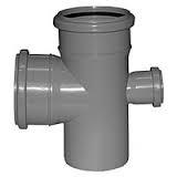 Крестовина одноплоскостная канализационная 110х110х50/90 ПП