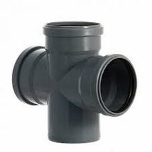 Крестовина одноплоскостная канализационная 110х110х110/90 ПП