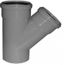 Тройник канализационный 110х110/45 ПП
