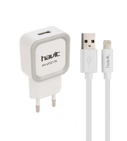 Зарядное устройство Havit Lightning USB iPhone