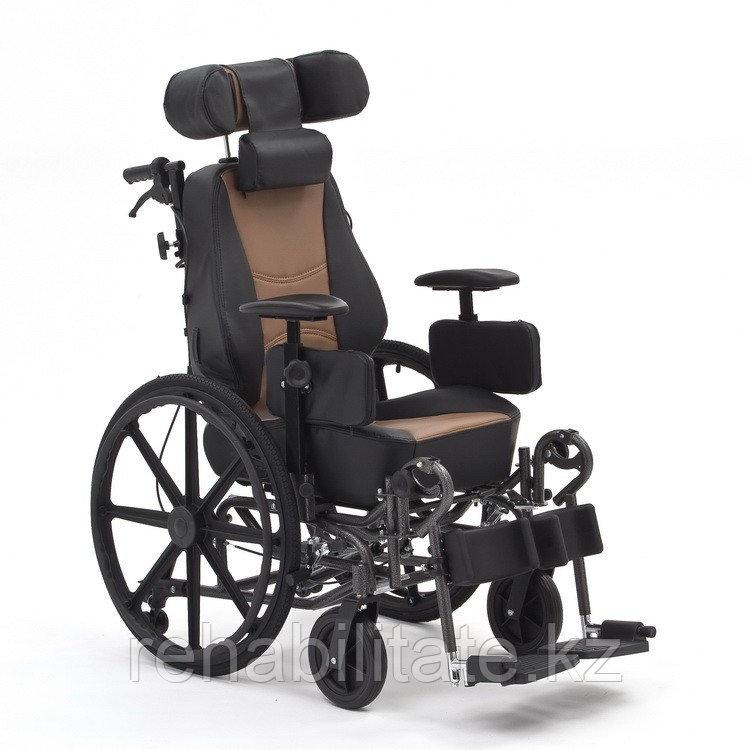 Кресло инвалидное автокресло с откидной спинкой FS204 BJG NEW шир.46