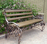 Скамейки кованые, фото 2