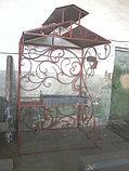 Кованые мангалы с крышей, фото 2