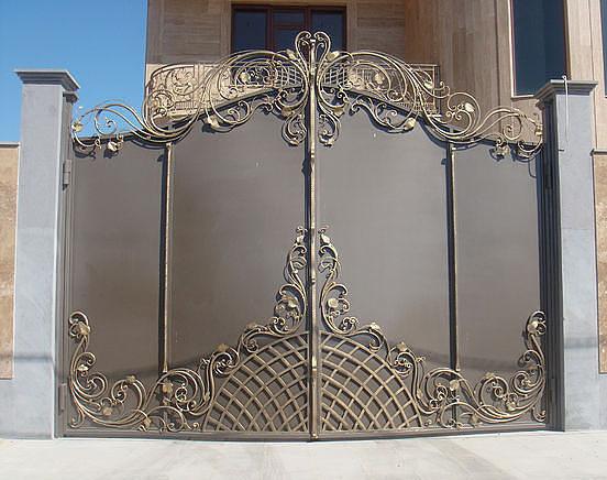 Механические ворота