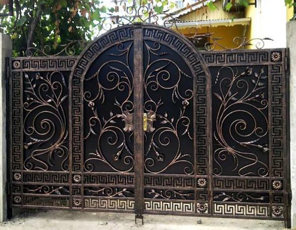 Изготовление ворот из металла