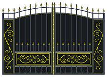 Ворота холодная ковка