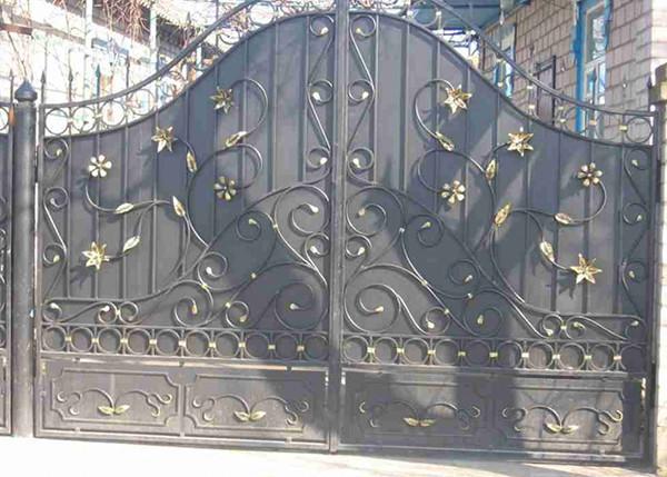 Изготовление распашных ворот