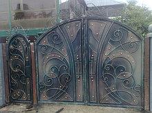 Изготовление ворот распашных металлических