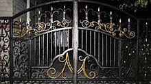 Откатные гаражные ворота